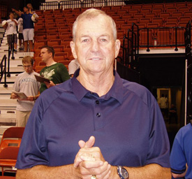 Coach Jim Calhoun