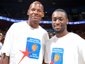 Ray Allen & Kemba Walker