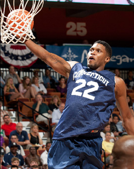 Rudy Gay in action